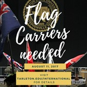 August flag carriers